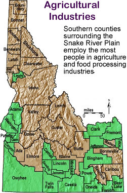 Idaho Outline Maps And Map Links