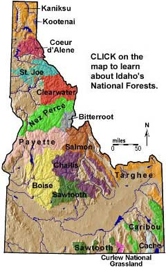 National Forests In Idaho